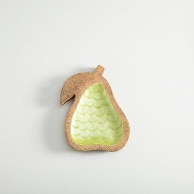 Chakra Pearl Servis Tabağı Yeşil